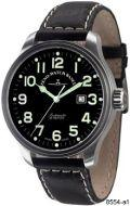 ZENO WATCH BASEL 8554-a1 Pilot Oversized Automatic
