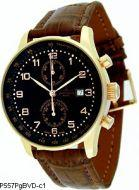 ZENO WATCH BASEL P557PgBVD-c1 X-Large Retro Chrono Bicompax